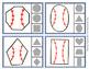 Baseball Shapes Clip Cards