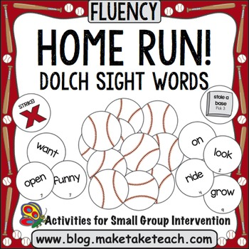 Sight Words - Home Run! Dolch Sight Words
