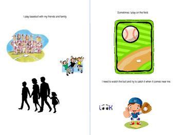 Baseball Social Story