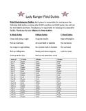 Coaching: Baseball/Softball Field Duties for Players System