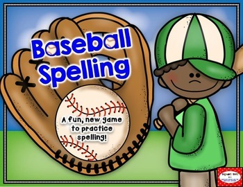 Baseball Spelling- A fun, new way to practice spelling!