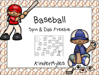 Baseball Spin & Dab Freebie