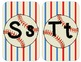 Baseball Sport Themed Alphabet Word Wall Posters LARGE