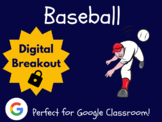 Baseball (Spring) - Digital Breakout! (Escape Room, Scavenger Hunt)