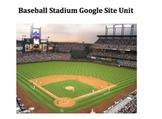 Baseball Stadium Research (Create a Google Site)
