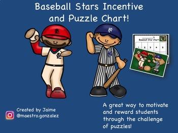 Baseball Stars Incentive Behavior Chart