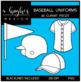Baseball Uniforms Clipart {A Hughes Design}