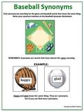 Baseball Synonyms