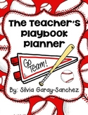 Baseball Teacher Lesson Planner, Grade Book, and Calendar