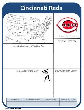 Baseball Team Report Set