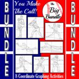 Baseball - The Big Bundle of 8 Baseball Coordinate Graphin