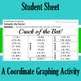 Crack of the Bat - A Summer Coordinate Graphing Activity