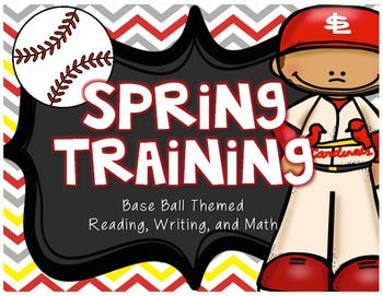 Baseball Thematic Unit - Close Reads, Writing Prompts, and