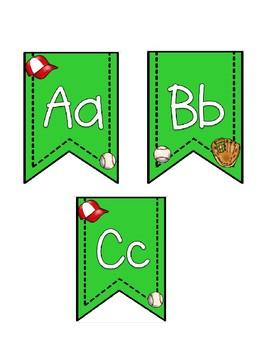 Baseball Theme Banner Pennants *Bundle*
