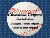Baseball Theme Classroom Coupons