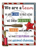 Baseball Theme Classroom Sign
