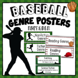 Baseball Theme Reading Genres