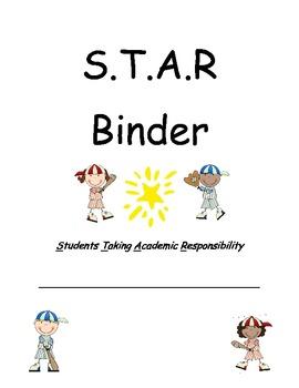 Baseball Theme STAR binders