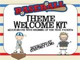 Baseball Theme Welcome Pack
