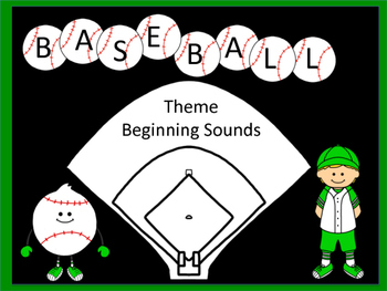 Baseball Theme beginning sounds