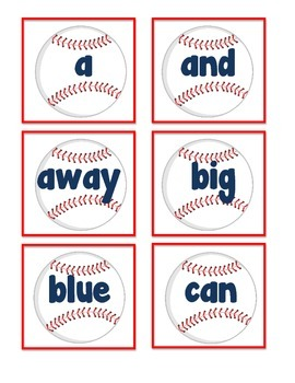 Baseball Themed Activities