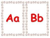 Baseball Themed Alphabet