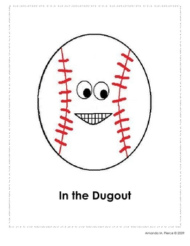 Baseball Themed Behavior Clip Chart AND Take Home Behavior Chart