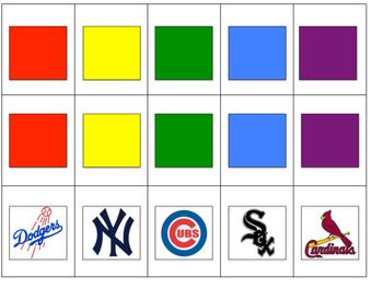 Baseball Themed Board Game