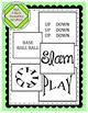 Brain Boxes Theme 1-5: Baseball Visual Word Puzzles
