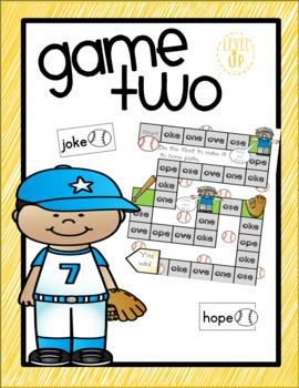 Baseball Themed Editable Game Boards