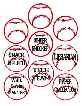 Baseball Themed Jobs Board