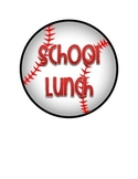 Baseball Themed Lunch Count Signs
