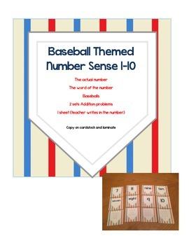 Baseball Themed Number Sense