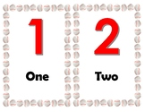 Baseball Themed Numbers