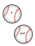 Baseball Themed Pre-Primer Sight Words