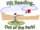 Baseball Themed Reading Posters