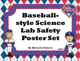 Baseball-Themed Science Lab Safety Posters