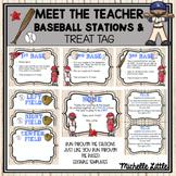 Baseball Theme Meet the Teacher Station Signs-EDITABLE