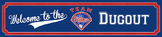 Baseball Themed - Welcome to the (Team Science) Dugout Banner
