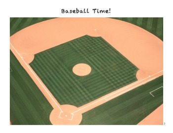 Baseball Time!  A whole class or small group game to revie