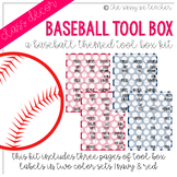 Baseball Toolbox Labels