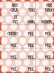 Baseball Toolbox Labels (Orange & Navy)