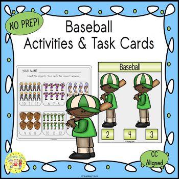 Baseball Worksheets Activities Games Printables and More