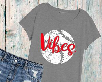 Baseball Vibes svg grunge baseball svg mom svg YOUR TEAM vintage svg 1001S