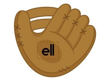 Baseball Vowel E Word Families