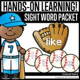 Baseball Sight Word Packet
