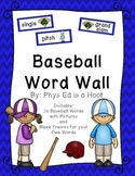 Baseball Word Wall Display