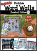 Baseball Word Walls: Sports Words, Printables, Thematic Writing Paper