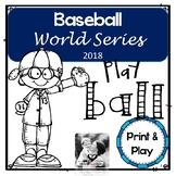 Baseball World Series 2017 Printables