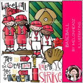Baseball clip art - COMBO PACK- by Melonheadz